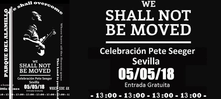 Seguidores de Pete Seeger celebrarán el sábado 5 de mayo el cumpleaños del músico en el Parque del Alamillo