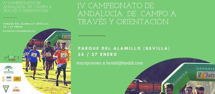 El Parque del Alamillo acogerá el IV Campeonato de Andalucía de Campo a Través y Orientación los días 26 y 27 de enero