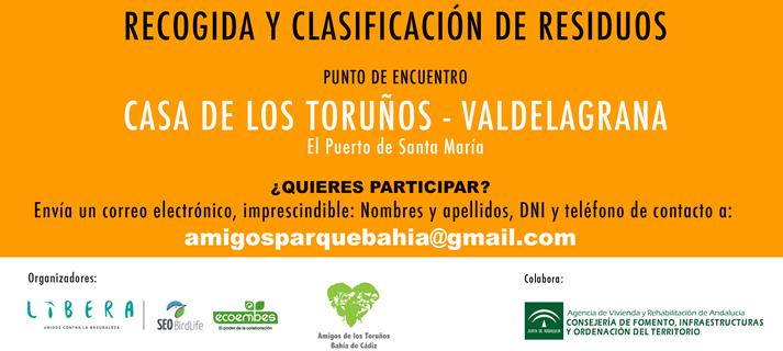 El próximo sábado, voluntariado en Los Toruños para limpiar la playa de la Punta de los Saboneses
