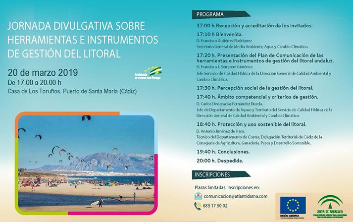 El Parque de los Toruños acoge una Jornada divulgativa sobre Herramientas e Instrumentos de Gestión del Litoral