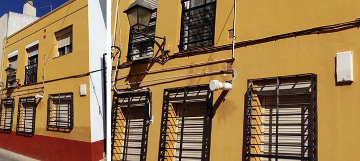 La Junta inicia obras por 86.500 euros en una promoción de 18 viviendas de calle Polvorista, en Trinidad Perchel