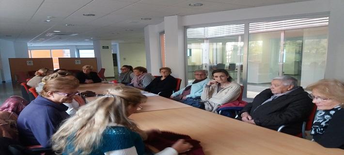 Comienzan a impartirse varios talleres en los espacios comunes de los Alojamientos de San Bernardo