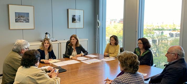 Fomento apoya un proyecto de viviendas para mayores en Sanlúcar de Barrameda