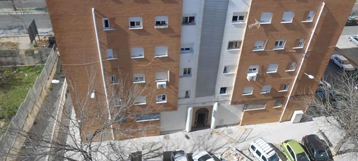 La Junta licita la obra de mejora de la accesibilidad a las 56  viviendas de Niágara y Legión Española, en Huelva