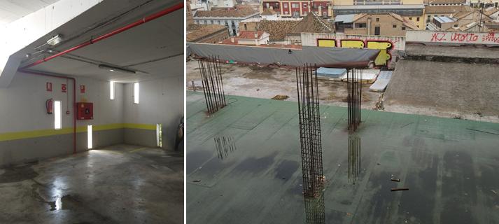 Adjudicadas las obras de mejora del parking subterráneo de la calle Zenete de Granada