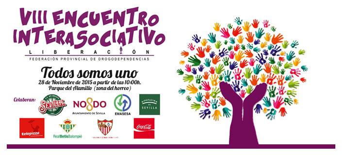 La Federación de Drogodependencias de Sevilla organiza el VIII Encuentro Interasociativo, tendrá lugar el próximo sábado 28, en el Parque del Alamillo