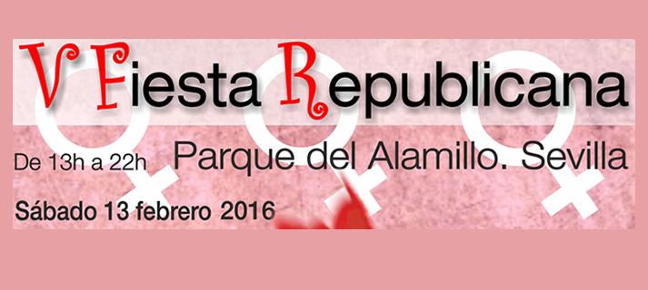El sábado 13 de febrero se celebra la V Fiesta Republicana en el Parque del Aamillo