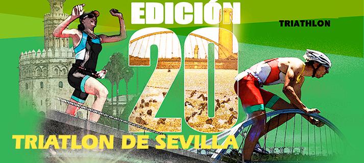 La XX Triatlon Ciudad de Sevilla se correrá el domingo 29 por el circuito del Alamillo
