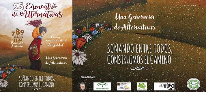 """La asociación cultural de artesanos """"El Bardal"""" celebrará del 7 al 9 de abril su 25 Encuentro de Alternativas en El Alamillo"""