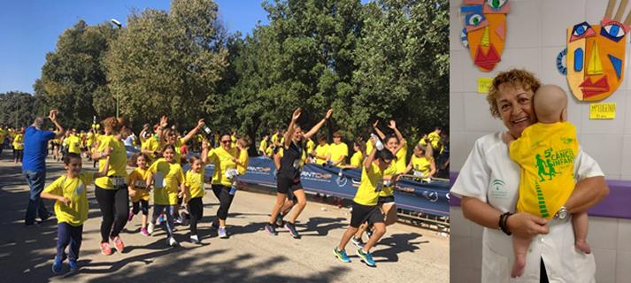 """La carrera solidaria """"Tus kilómetros nos dan vida"""" volverá a celebrarse en el Parque del Alamillo el 28 de octubre"""
