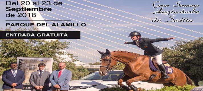 El Parque del Alamillo se consolida como sede de la Gran Semana del Caballo Anglo-Árabe de Sevilla