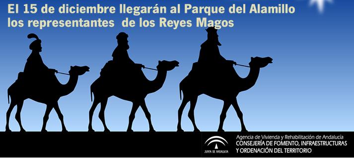 El 15 de diciembre llegarán al Parque los representantes de los Reyes Magos
