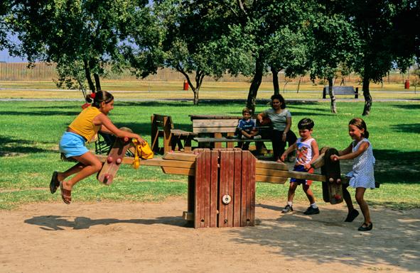 Parque Del Alamillo Juegos Infantiles
