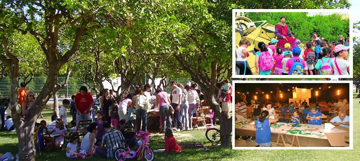 El parque del Alamillo ofrece a los colegios de Sevilla la posibilidad de concertar sesiones de teatro para los escolares
