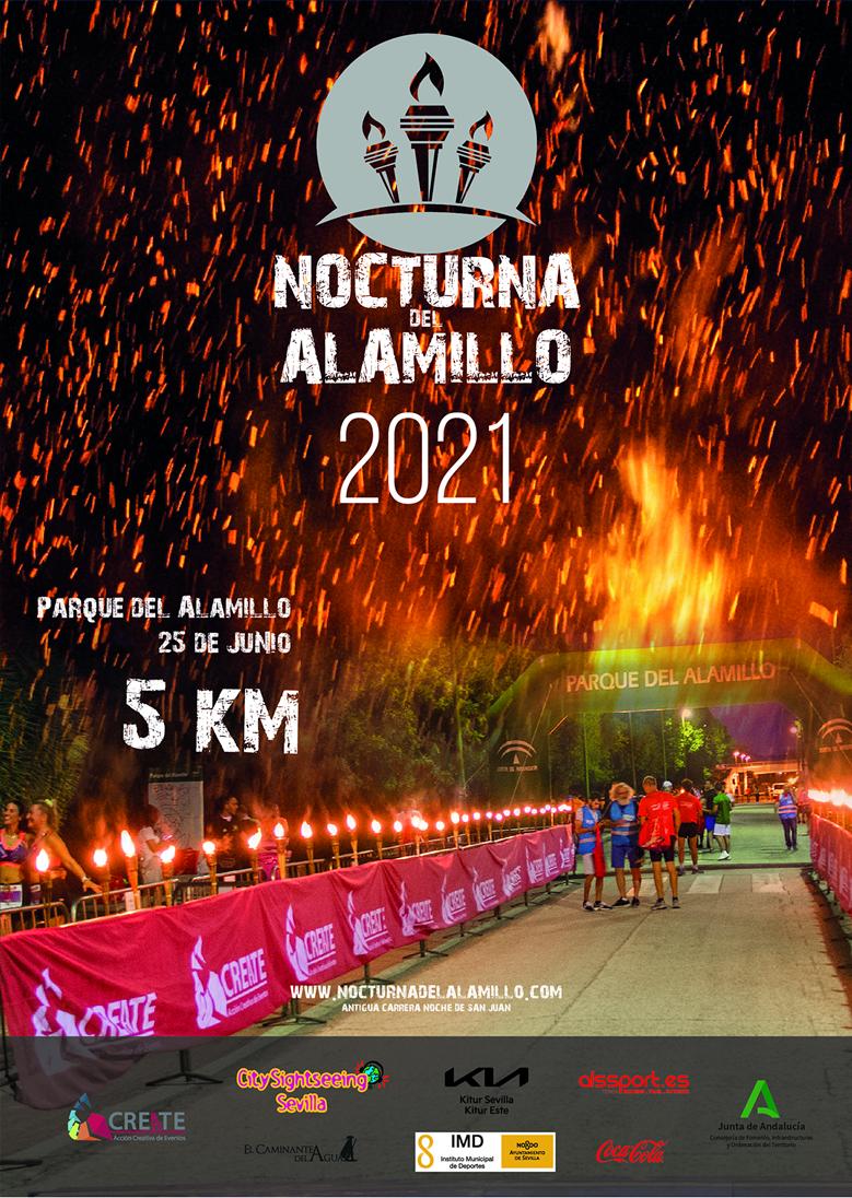 El viernes 25 se celebra la Nocturna del Alamillo, primera carrera popular de este año en Sevilla