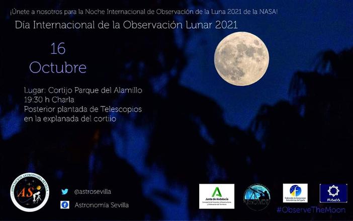 El Parque del Alamillo se suma este sábado a la celebración del Día de la Observación Lunar