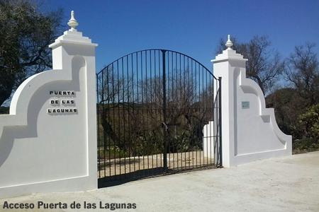 Acceso Puerta Lagunas
