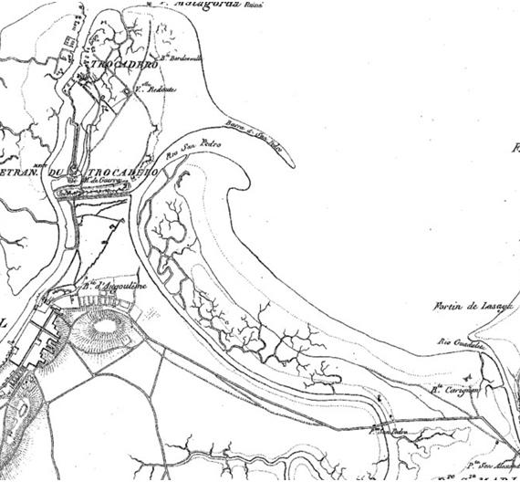 imagen 11 Detalle de las fortificaciones de el Parque Metropolitano y su entorno