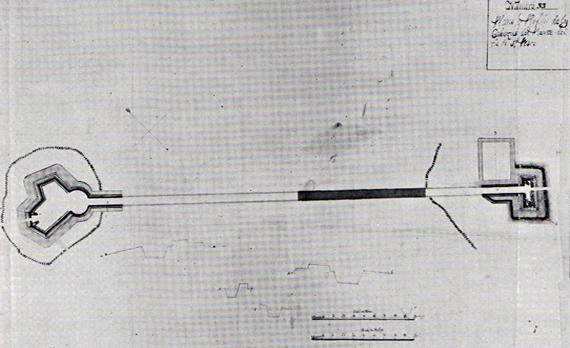 imagen 6 Detalle de lámina 683 en Calderón Quijano,  Cartografía militar y marítima de Cádiz, Sevilla, 1956