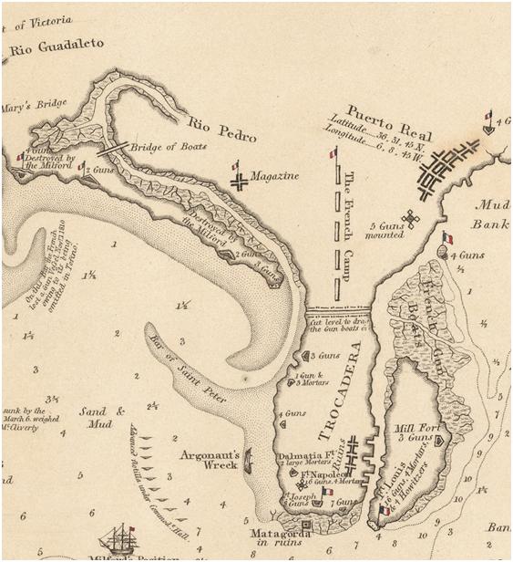 imagen 9 Detalle de las fortificaciones francesas en el Parque Metropolitano