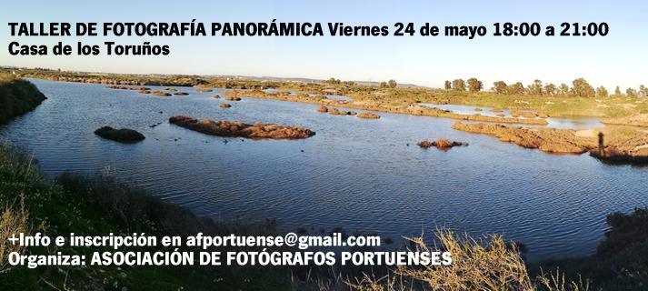FOTOGRAFÍA PANORÁMICA. Taller
