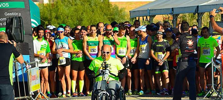 """Más de 300 personas participan en la V Media Maratón y la I Maratón """"Bahía de Cádiz"""" Toruños-Algaida"""