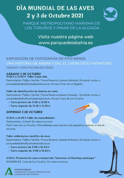 Los Toruños dedicará todo el fin de semana a conmemorar el Día Mundial de las Aves