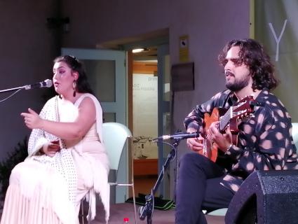 Alba Martos y Juan Anguita cierran el próximo sábado las Veladas Flamencas de Los Toruños