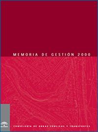 Memoria de Gestión 2000