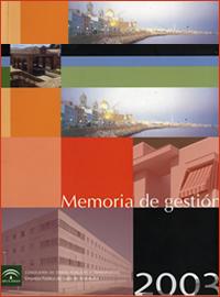 Memoria de Gestión 2003
