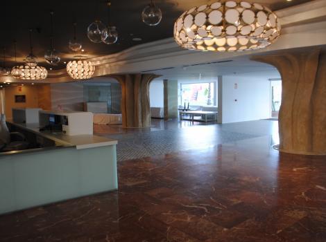Hotel Flamero. Recepción
