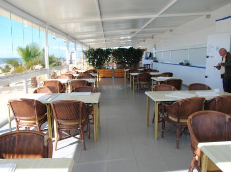 Restaurante Punta Mar. Vista interior.