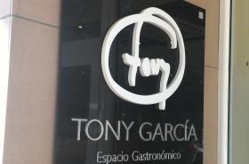 Espacio Gastronomico Tony Garcia Cartel de Entrada