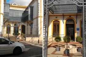 Hotel Villa María. Acceso