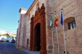 Hotel Convento Aracena. Acceso.