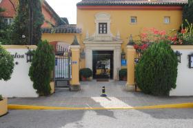 Restaurante Hotel Los Jandalos Vistahermosa. Acceso.