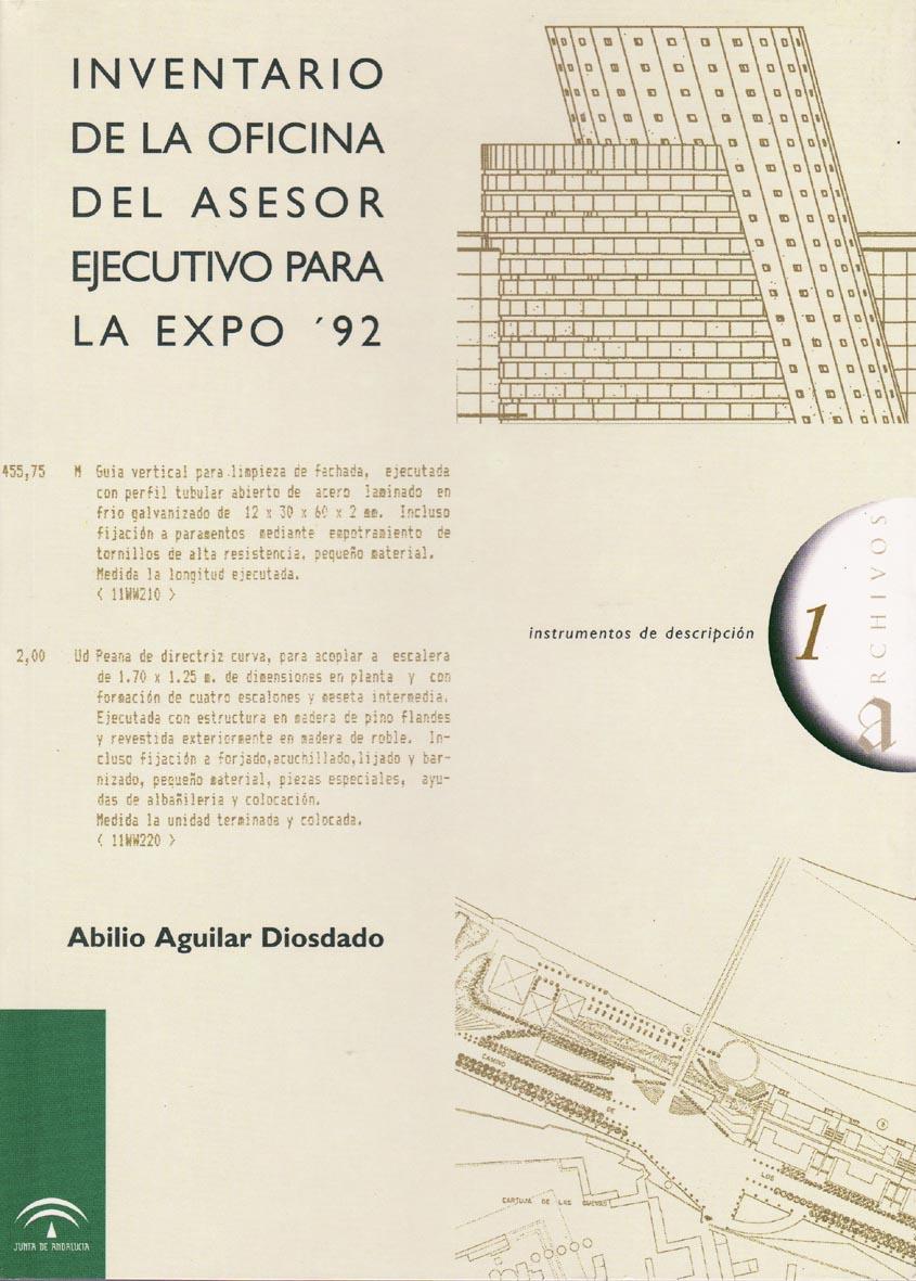 Inventario del Asesor Ejecutivo para la Expo-92
