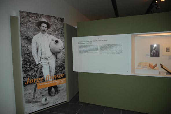 """Inaugurada la exposición """"Jorge Bonsor y la recuperación de Baelo Claudia (1917-1921)"""" (bmp 684 Kb)"""