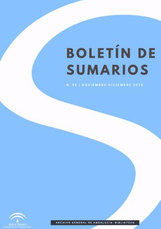 Boletin de Sumarios, 2019
