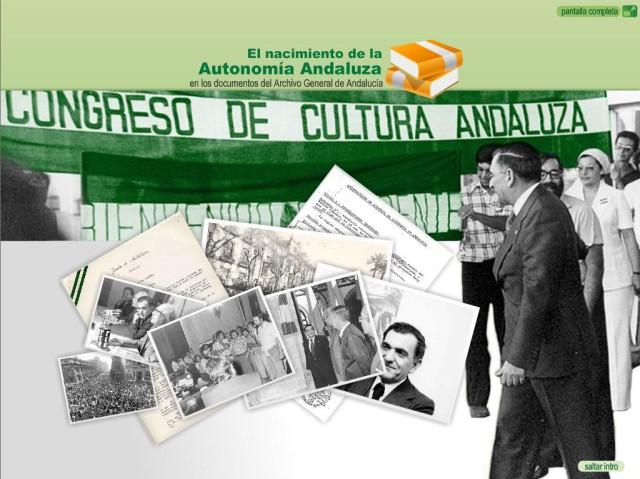 El nacimiento de la Autonomía Andaluza (bmp 900 Kb)