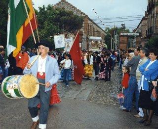 Las fiestas de primavera de la emigración andaluza