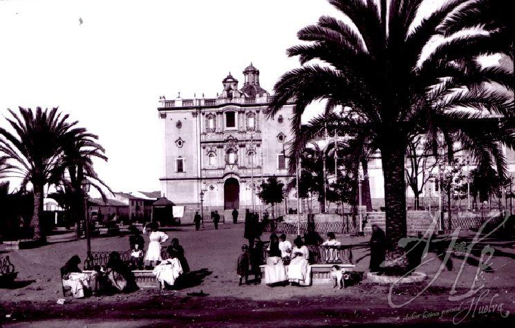 AHPH. F-002/005. Plaza de la Merced. Huelva