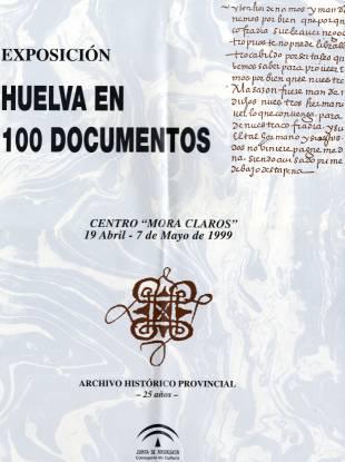 Cartel Huelva en 100 documentos