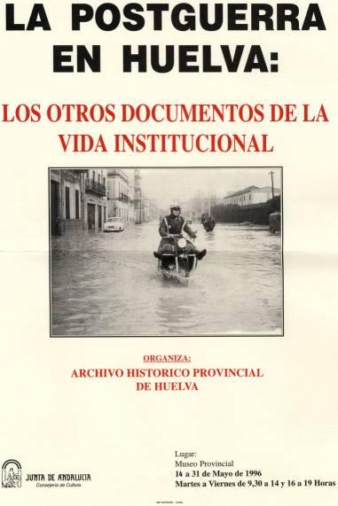 Cartel La Postguerra en Huelva