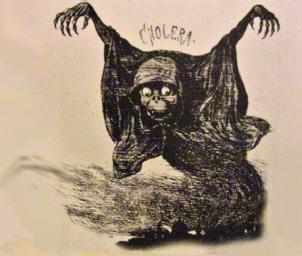Caricatura del colera