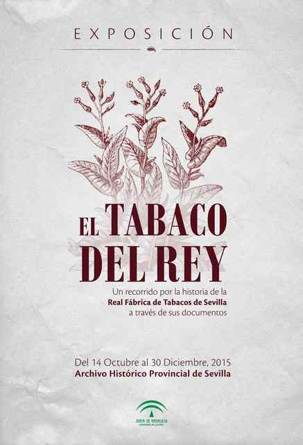 Cartel El Tabaco del Rey_1