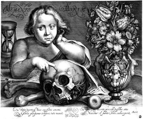 Grabado Simon de Passe 1612