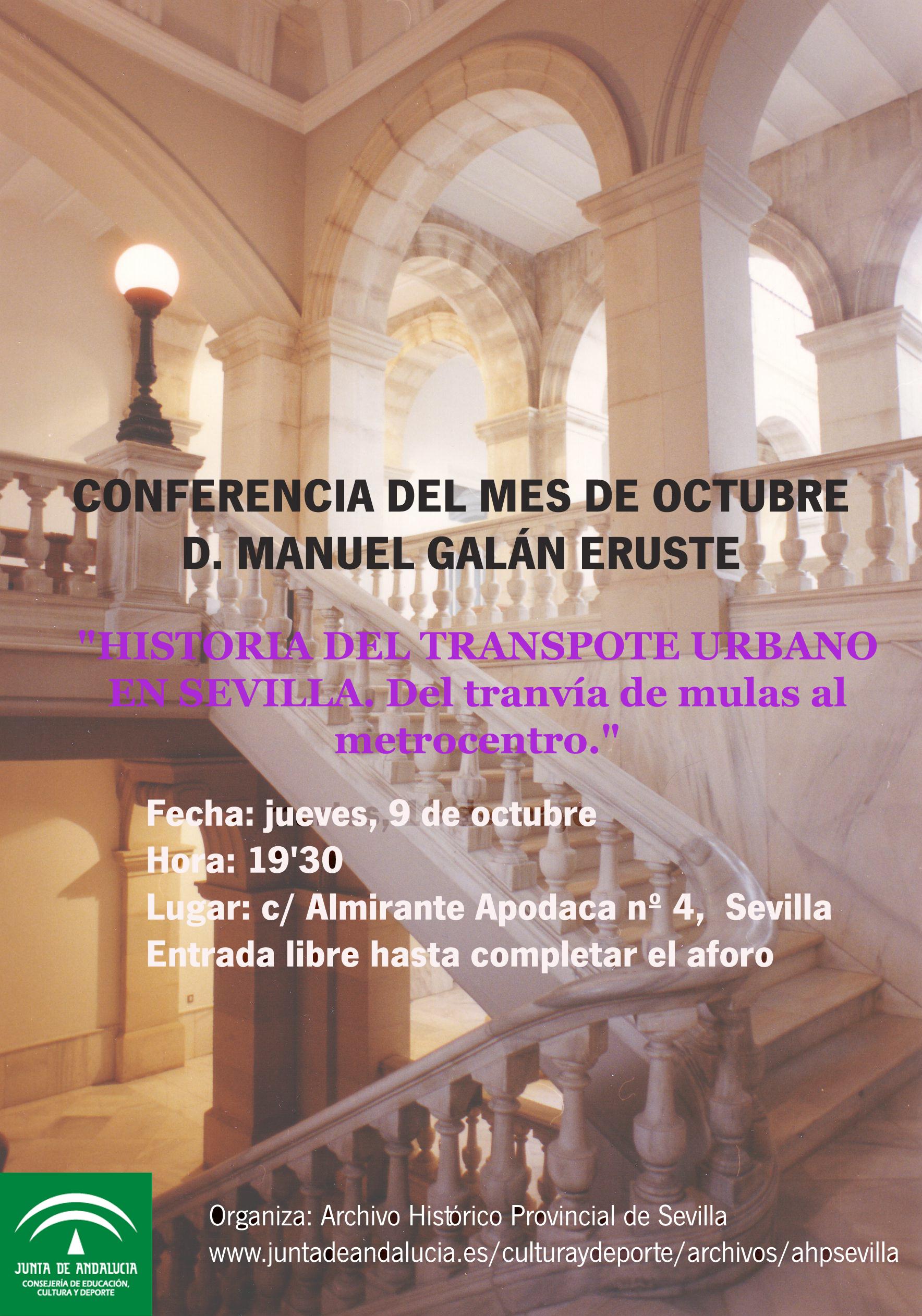 Conferencia octubre
