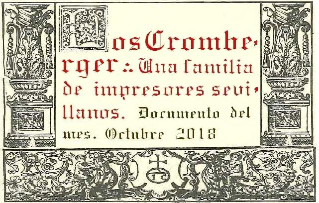 Portada Los Cromberger