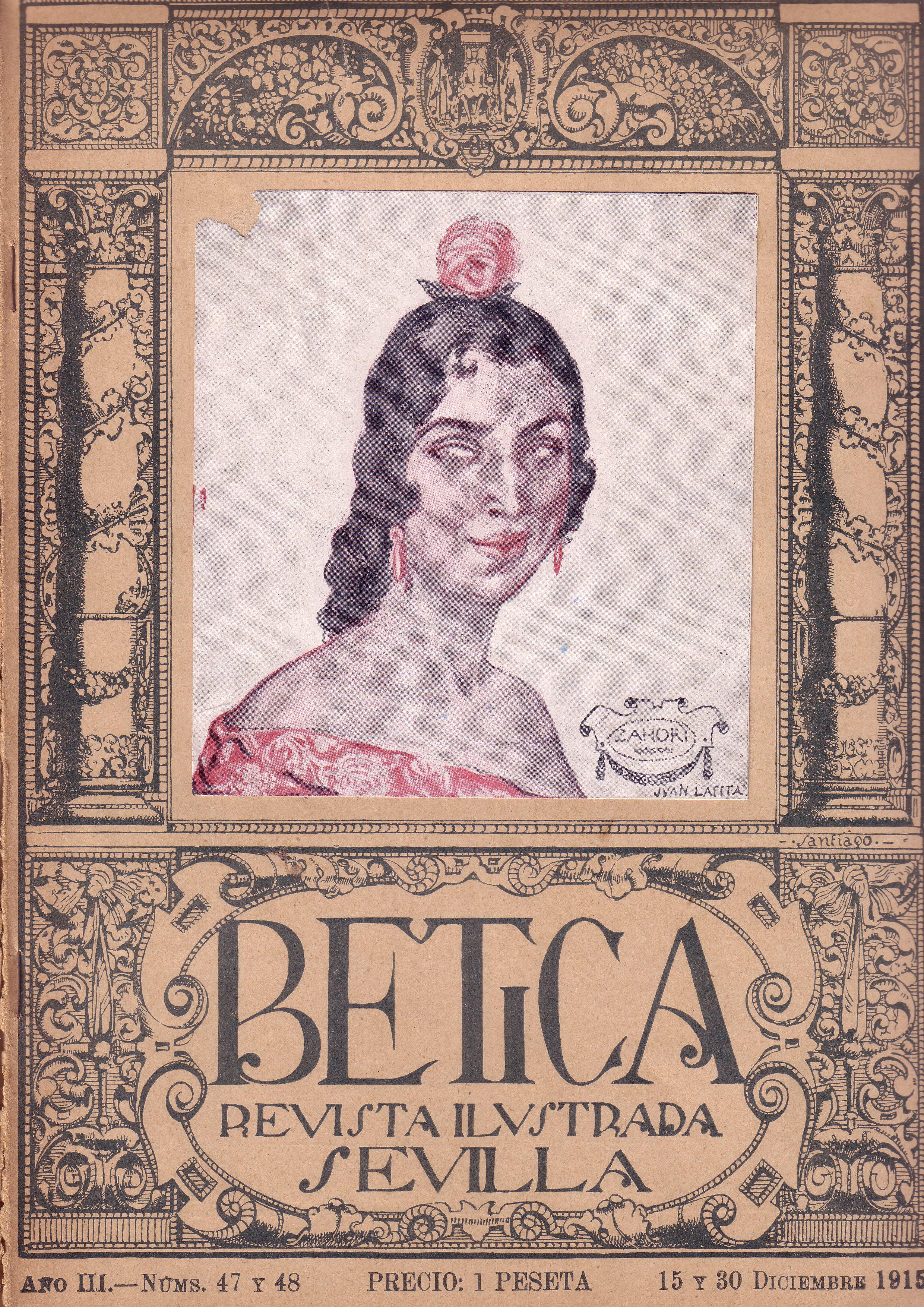 Portada Revista Bética